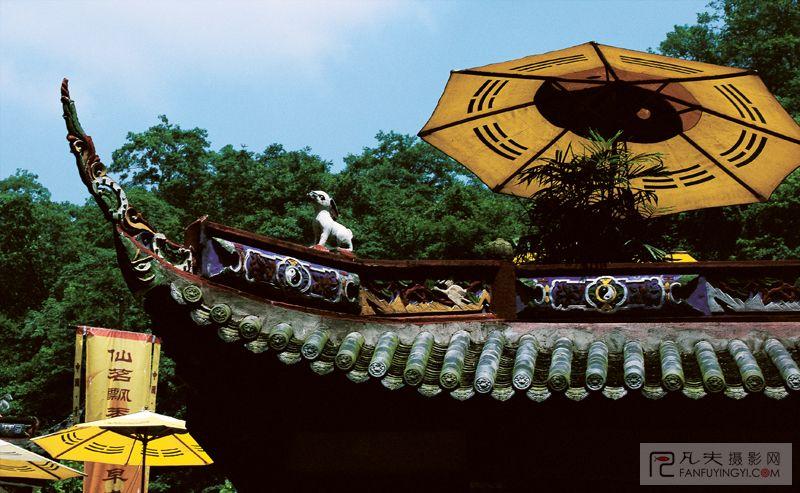 中国名胜古迹手绘