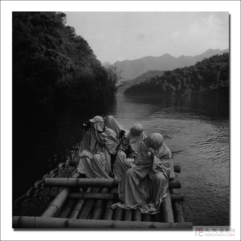 广州风景手绘黑白